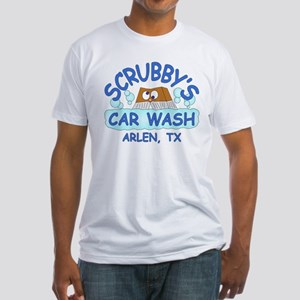 Scrubbys Car Wash Fitted T-Shirt