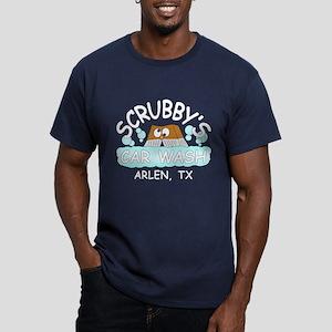 Scrubbys Car Wash Men's Fitted T-Shirt (dark)