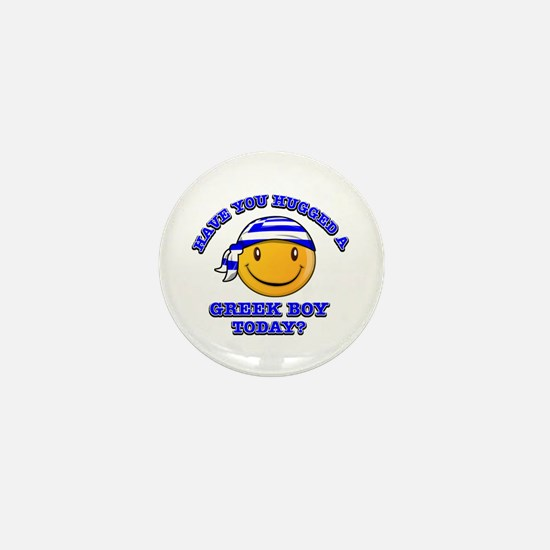 Have you hugged a Greek today? Mini Button