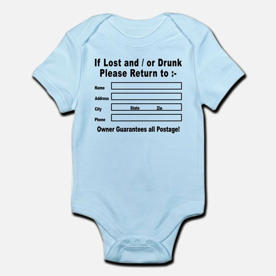 If Lost and / or Drunk Infant Bodysuit