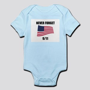 Never Forget 9/11 Infant Creeper