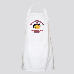 Have you hugged a Croatian today? Apron
