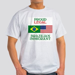 Brazilian Immigrant Ash Grey T-Shirt