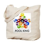 Pool King Tote Bag