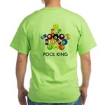 Pool King Green T-Shirt