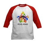 Pool King Kids Baseball Jersey