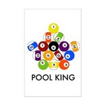 Pool King Mini Poster Print