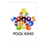Pool King Postcards (Package of 8)