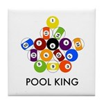 Pool King Tile Coaster