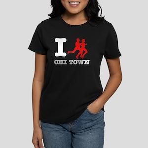 I run Chi Town Women's Dark T-Shirt