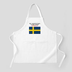 Swedish Heritage BBQ Apron