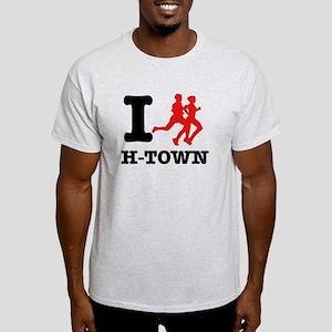 I run H-Town Light T-Shirt