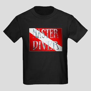 Master Diver Kids Dark T-Shirt