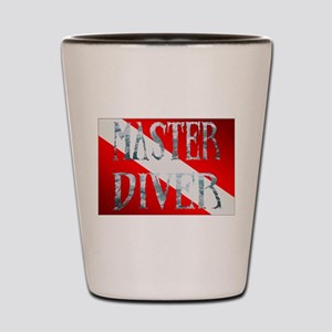 Master Diver Shot Glass