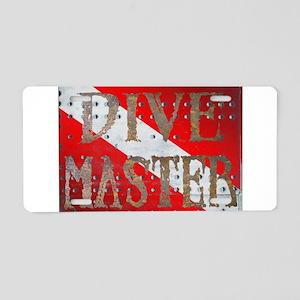 Iron Dive Master Aluminum License Plate