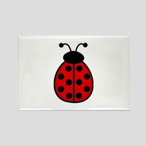 Ladybugs3 Rectangle Magnet