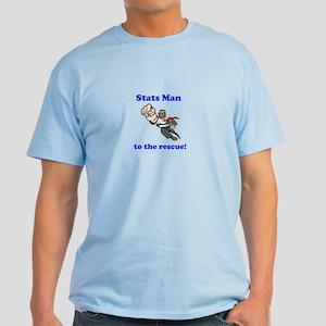 Stats Man Light T-Shirt