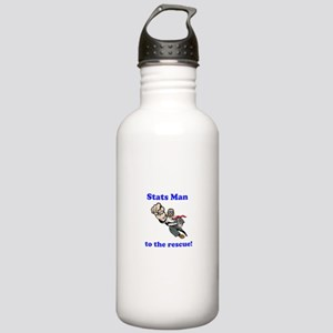 Stats Man Stainless Water Bottle 1.0L