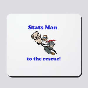Stats Man Mousepad