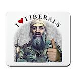 Osama luvs Liberals Mousepad