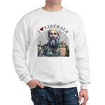 Osama luvs Liberals Sweatshirt