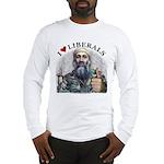 Osama luvs Liberals Long Sleeve T-Shirt