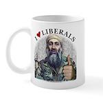 Osama luvs Liberals Mug