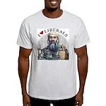 Osama luvs Liberals Light T-Shirt