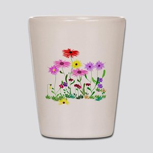 Flower Bunch Shot Glass