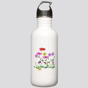 Flower Bunch Stainless Water Bottle 1.0L