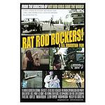 Rat Rod Rockers! STIFF Large Poster