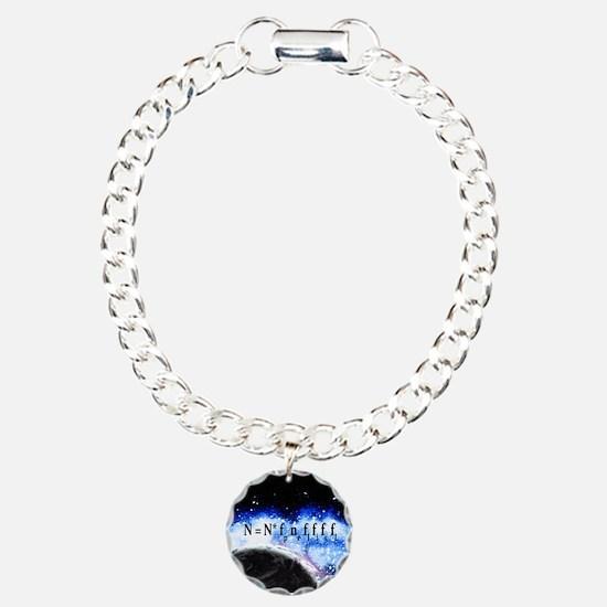Drake Equation Charm Bracelet, One Charm