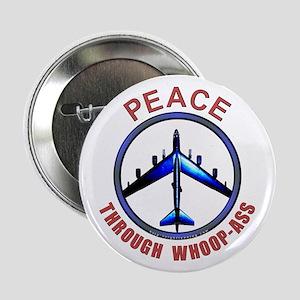 """Peace through Whoop-Ass"" Button"