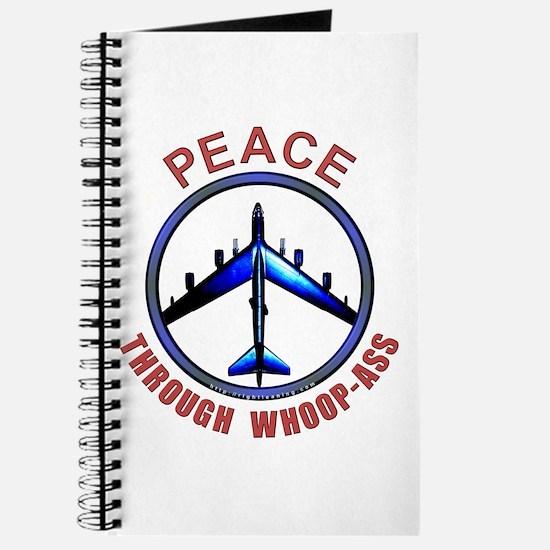 """""""Peace through Whoop-Ass"""" Journal"""