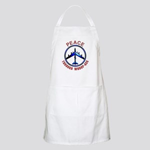 """Peace through Whoop-Ass"" Apron"