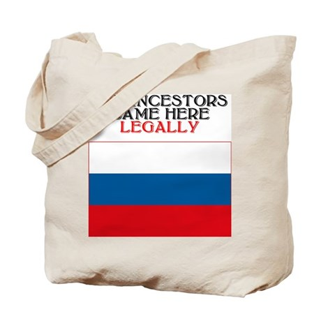 Russian Heritage Tote Bag