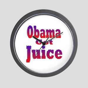 Obama Got Juice Red White Blu Wall Clock
