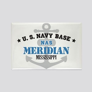 US Navy Meridian Base Rectangle Magnet