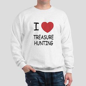 i heart treasure hunting Sweatshirt