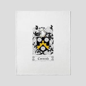 Cornish Throw Blanket