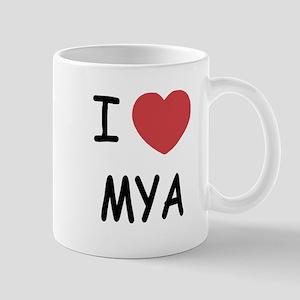 i heart mya Mug