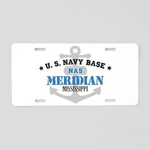 US Navy Meridian Base Aluminum License Plate