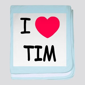 i heart tim baby blanket