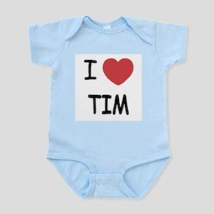 i heart tim Infant Bodysuit