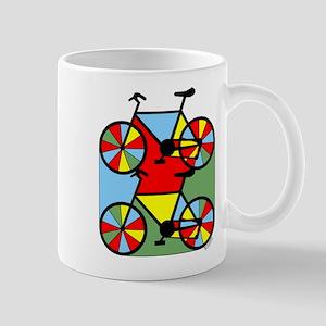 Colorful Bikes Mug