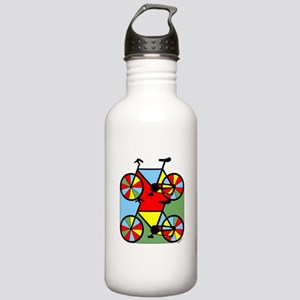 Colorful Bikes Stainless Water Bottle 1.0L