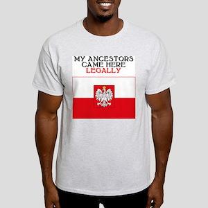 Polish Heritage Ash Grey T-Shirt