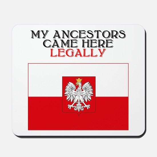 Polish Heritage Mousepad
