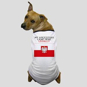 Polish Heritage Dog T-Shirt