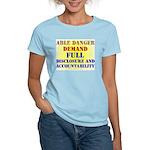 Able Danger Women's Pink T-Shirt